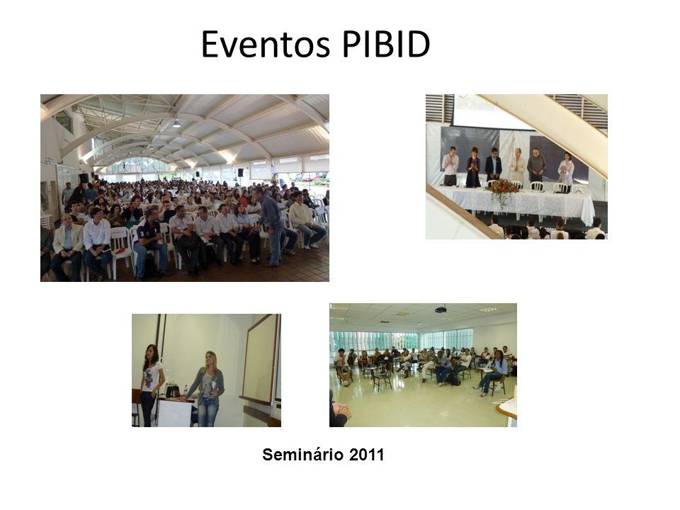 Eventos PIBID Seminário 2011