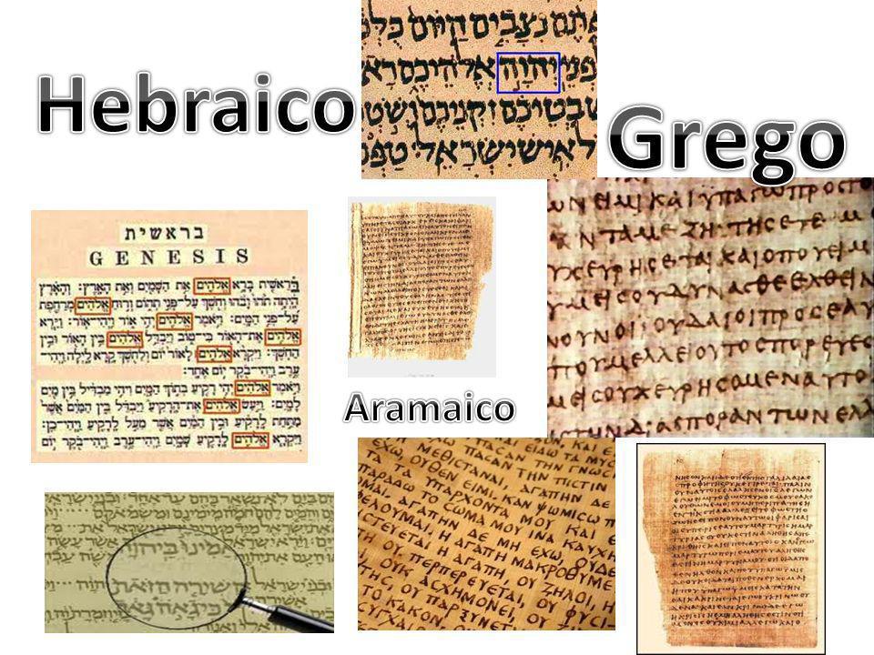Hebraico Grego Aramaico