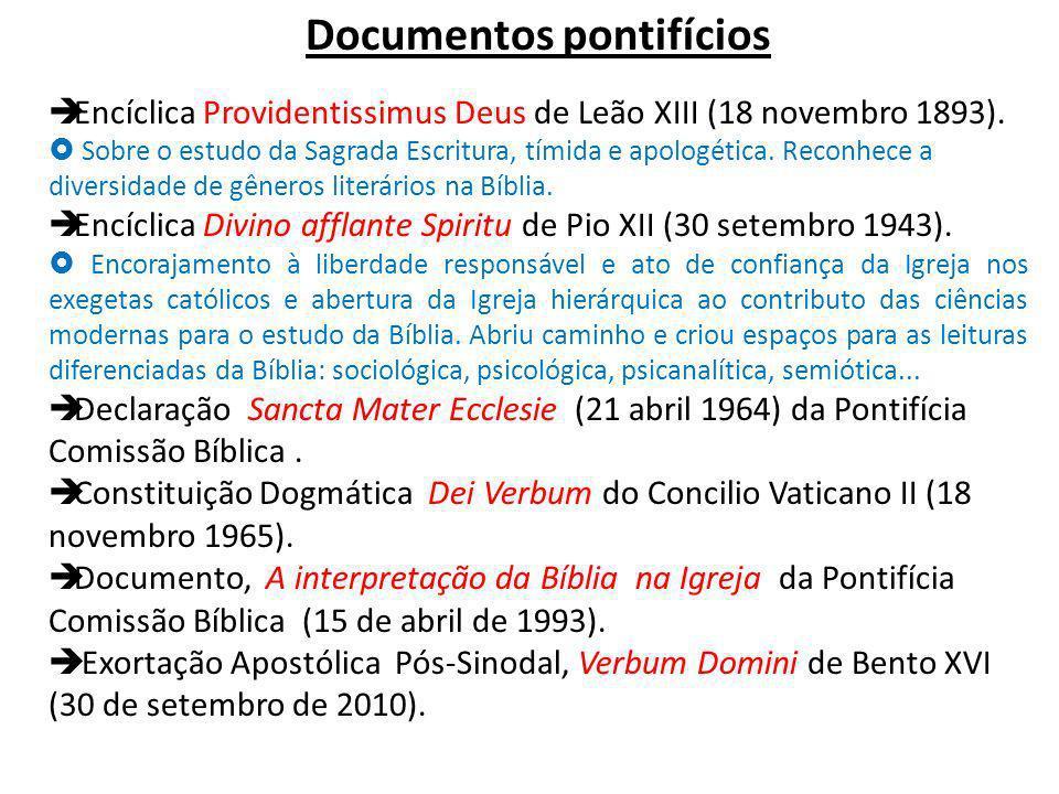 Documentos pontifícios
