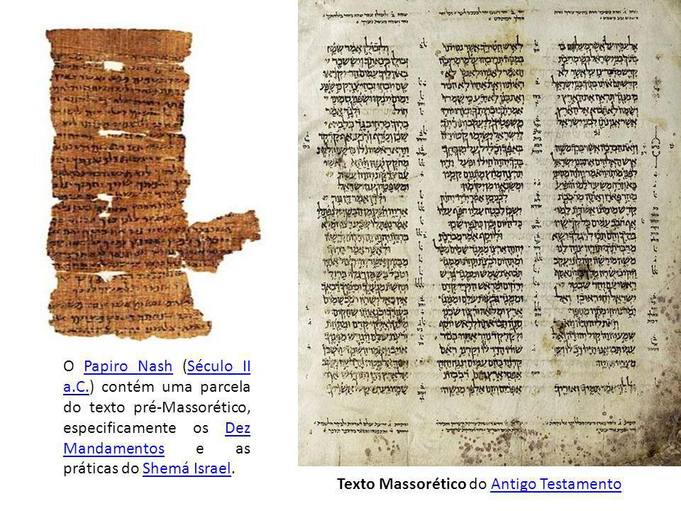 O Papiro Nash (Século II a. C