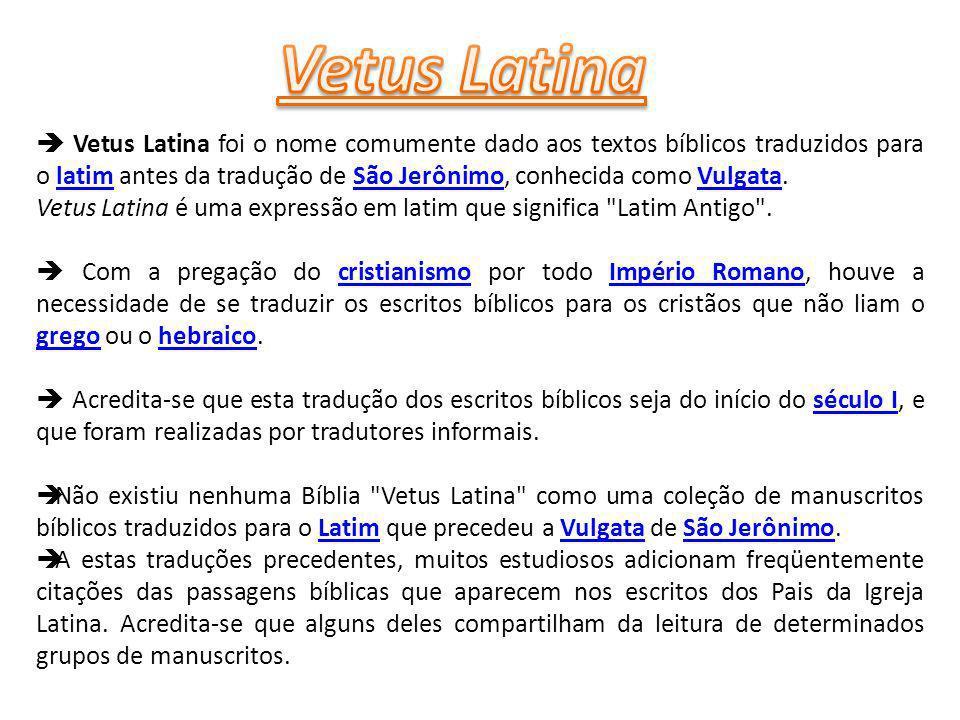Vetus Latina