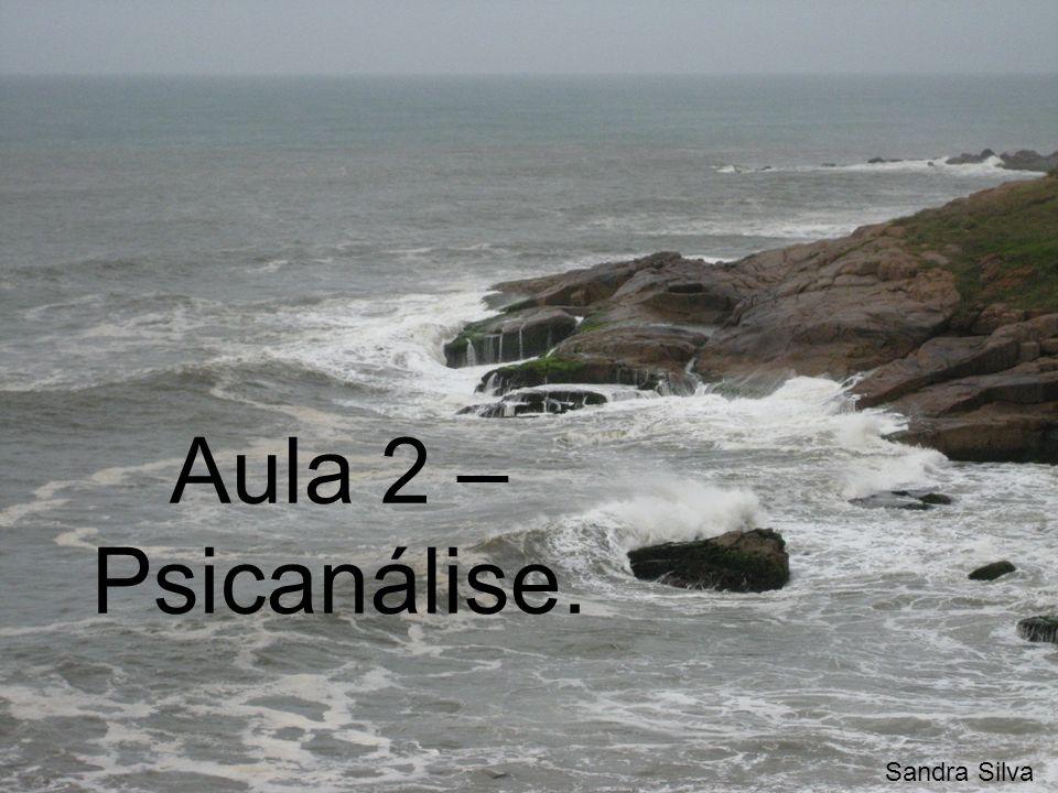 Aula 2 –Psicanálise. Sandra Silva