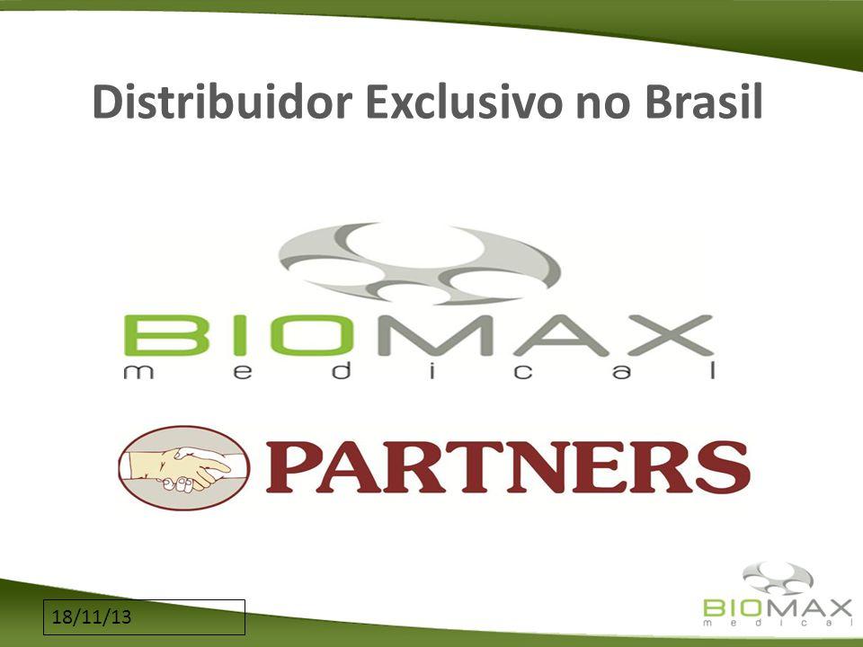 Distribuidor Exclusivo no Brasil
