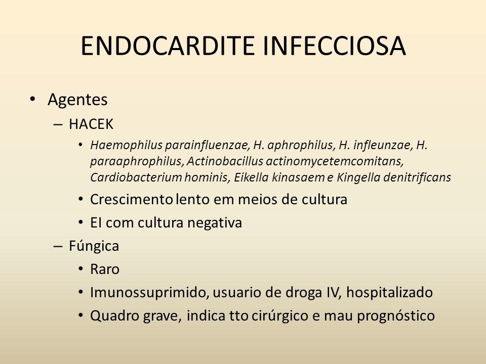 ENDOCARDITE INFECCIOSA
