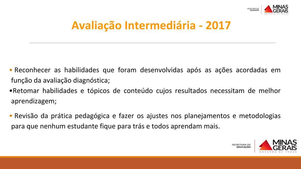 Avaliação Intermediária - 2017
