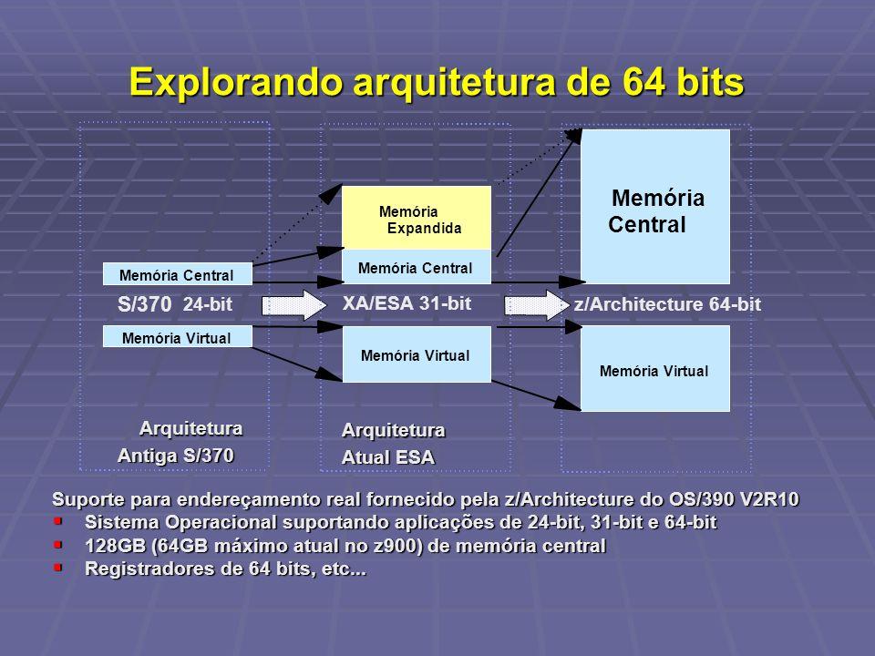 Explorando arquitetura de 64 bits