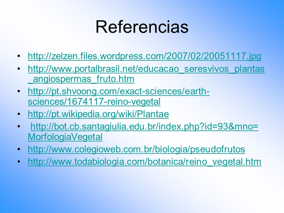 Referencias http://zelzen.files.wordpress.com/2007/02/20051117.jpg