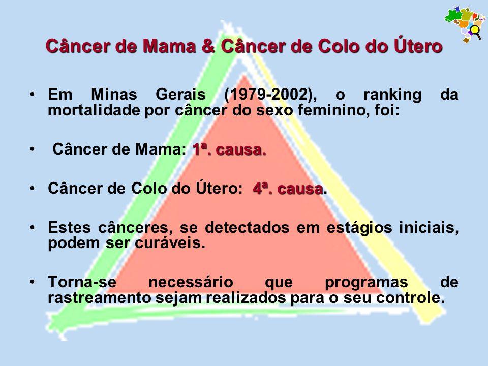 Câncer de Mama & Câncer de Colo do Útero