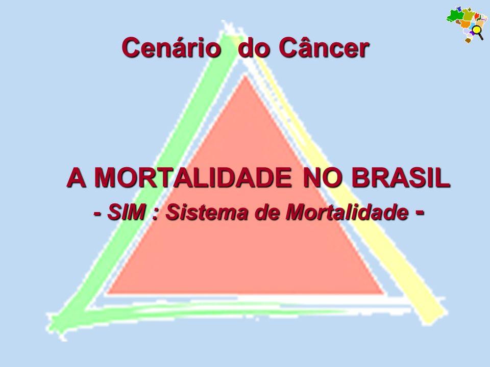 A MORTALIDADE NO BRASIL - SIM : Sistema de Mortalidade -