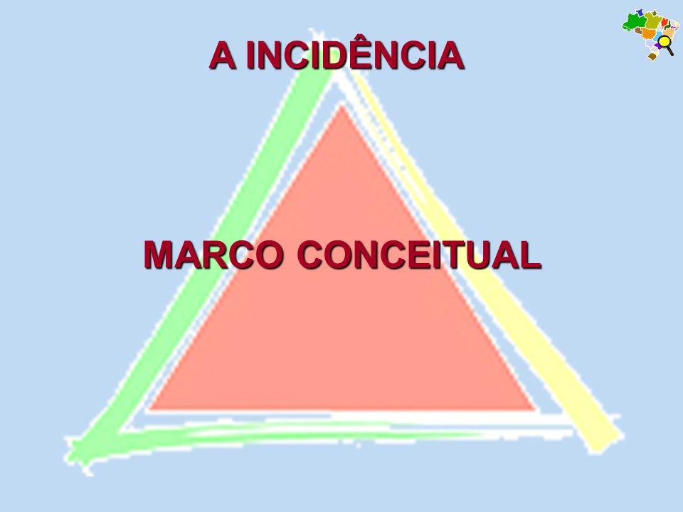 A INCIDÊNCIA MARCO CONCEITUAL