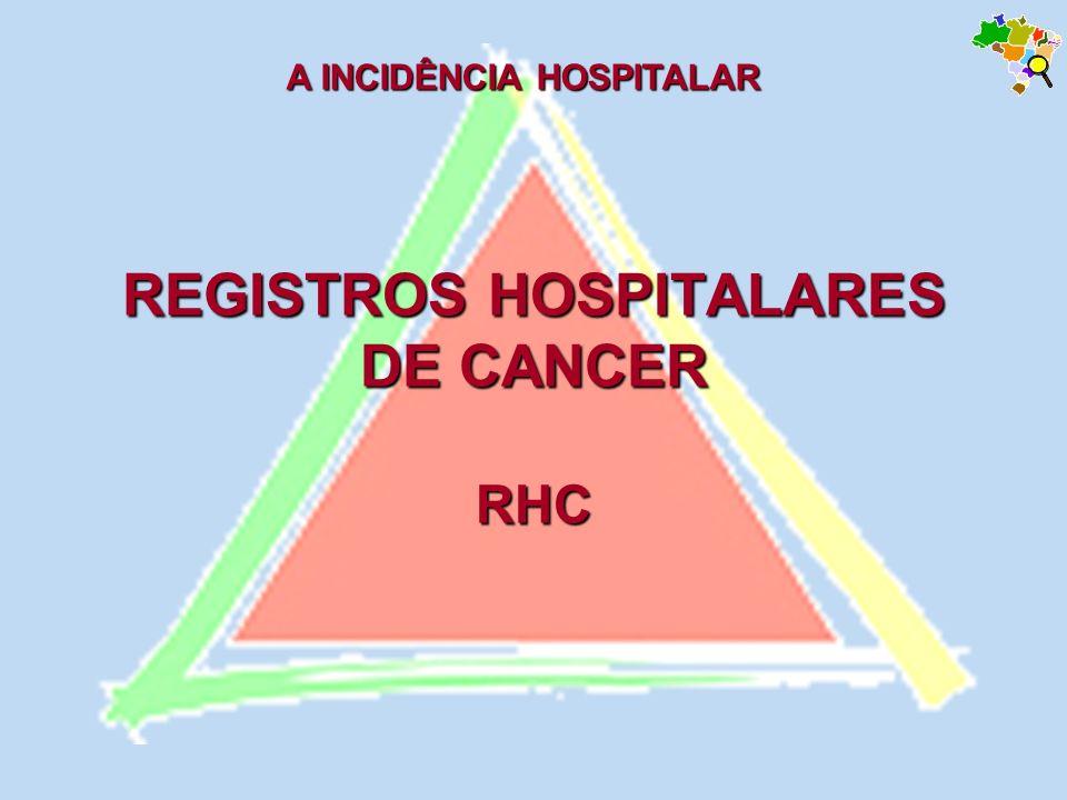REGISTROS HOSPITALARES DE CANCER RHC