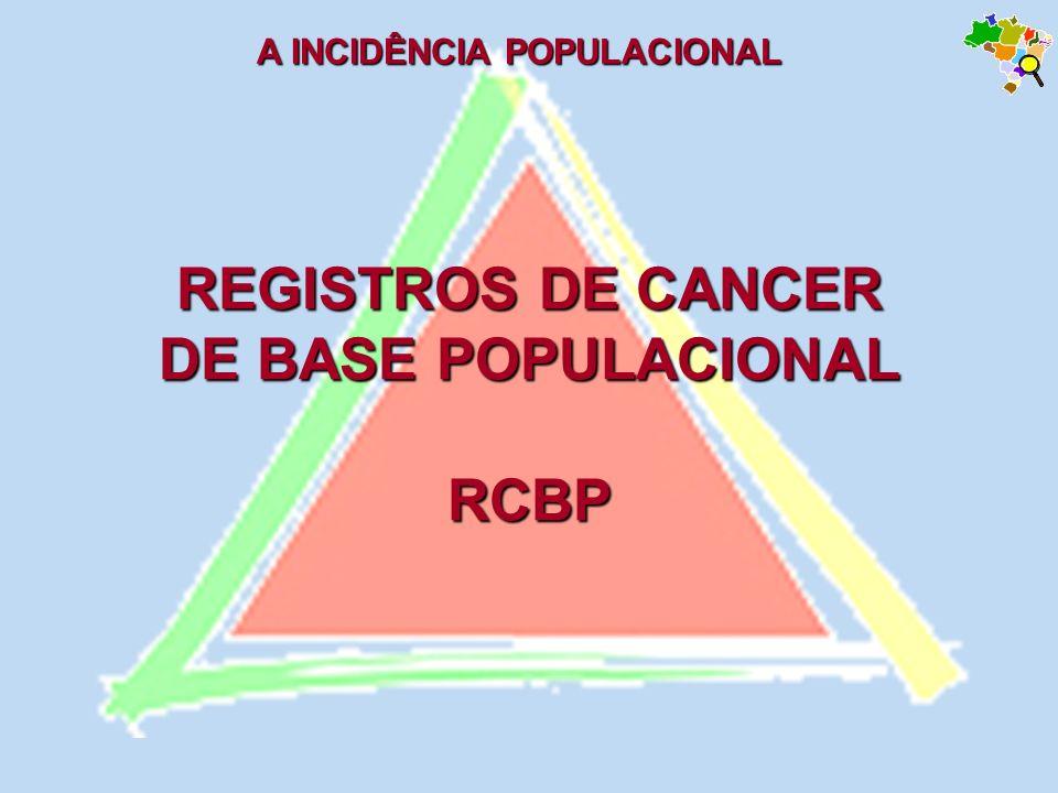 REGISTROS DE CANCER DE BASE POPULACIONAL RCBP
