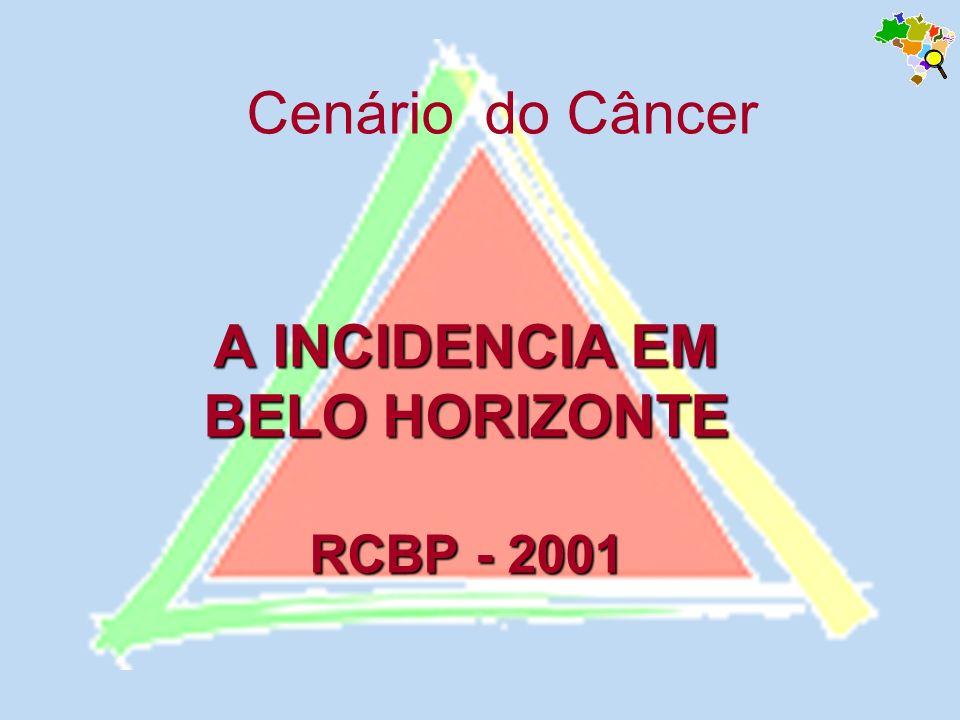 A INCIDENCIA EM BELO HORIZONTE RCBP - 2001