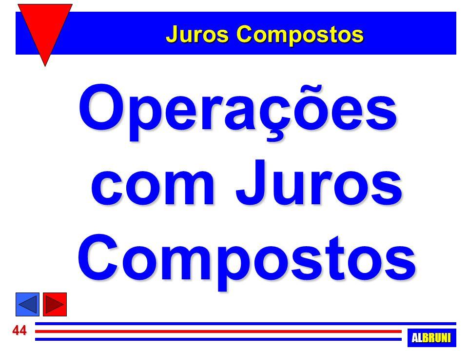 Operações com Juros Compostos