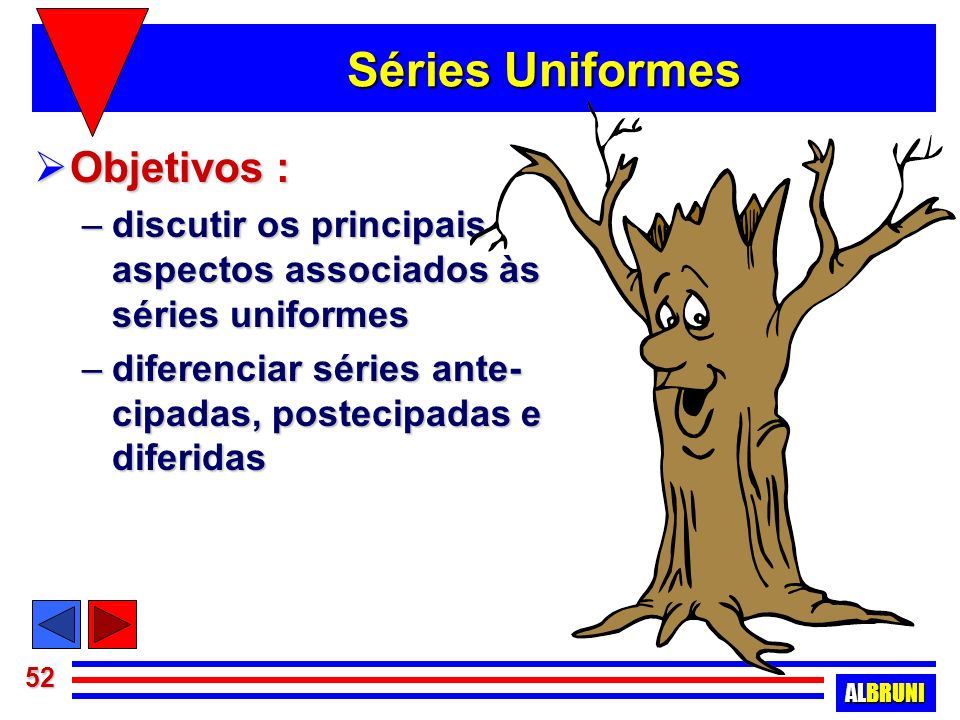 Séries Uniformes Objetivos :