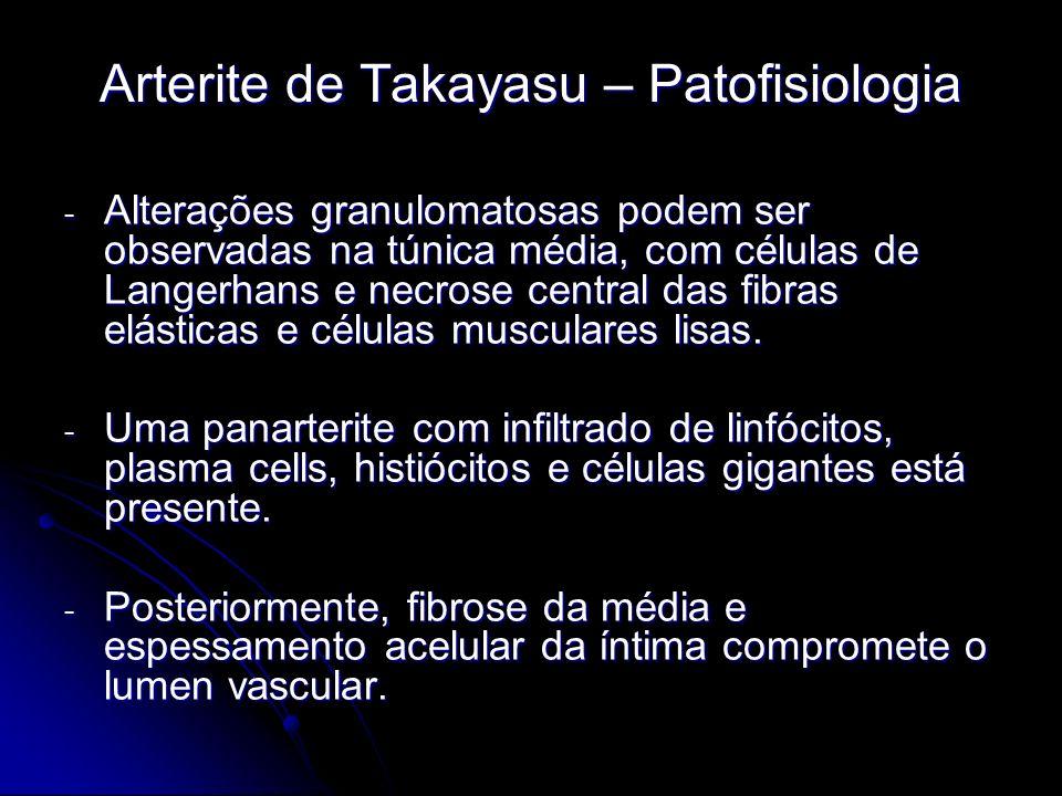 Arterite de Takayasu – Patofisiologia