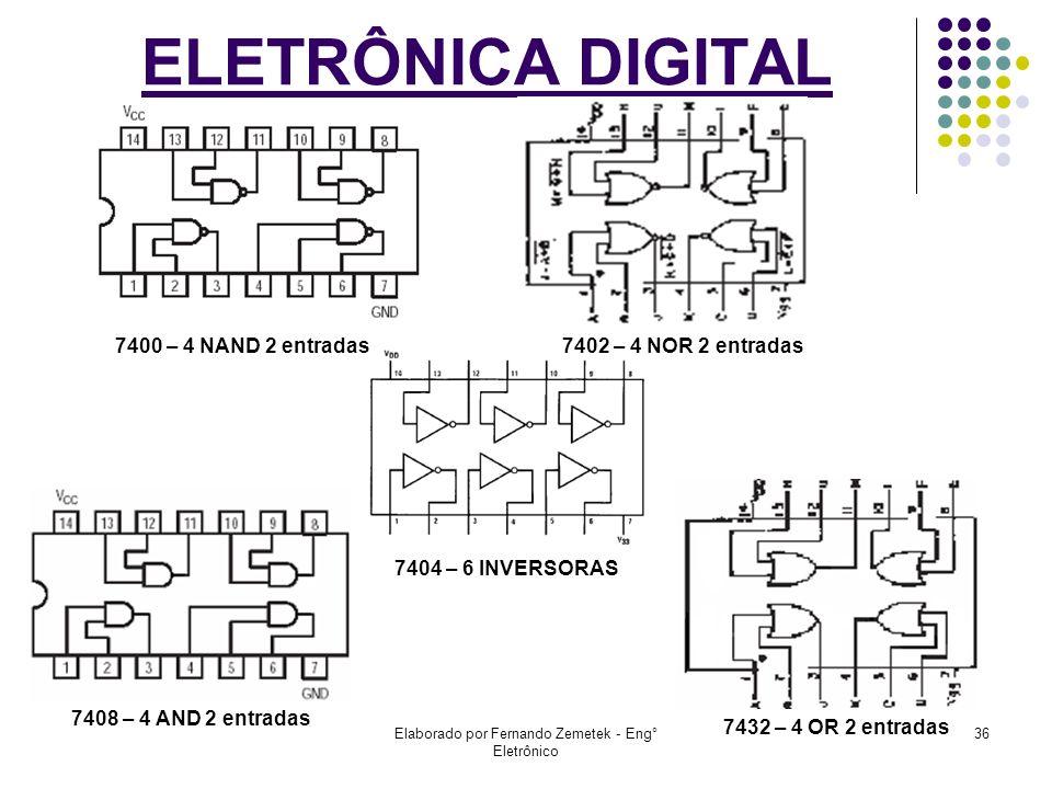 Elaborado por Fernando Zemetek - Eng° Eletrônico