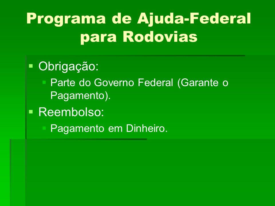 Programa de Ajuda-Federal para Rodovias