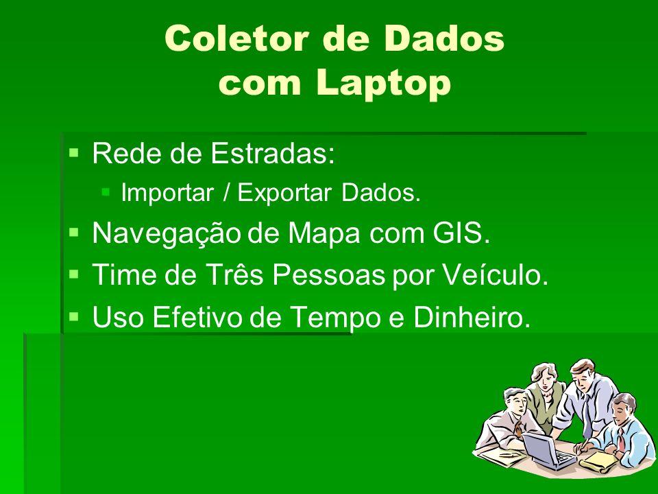 Coletor de Dados com Laptop