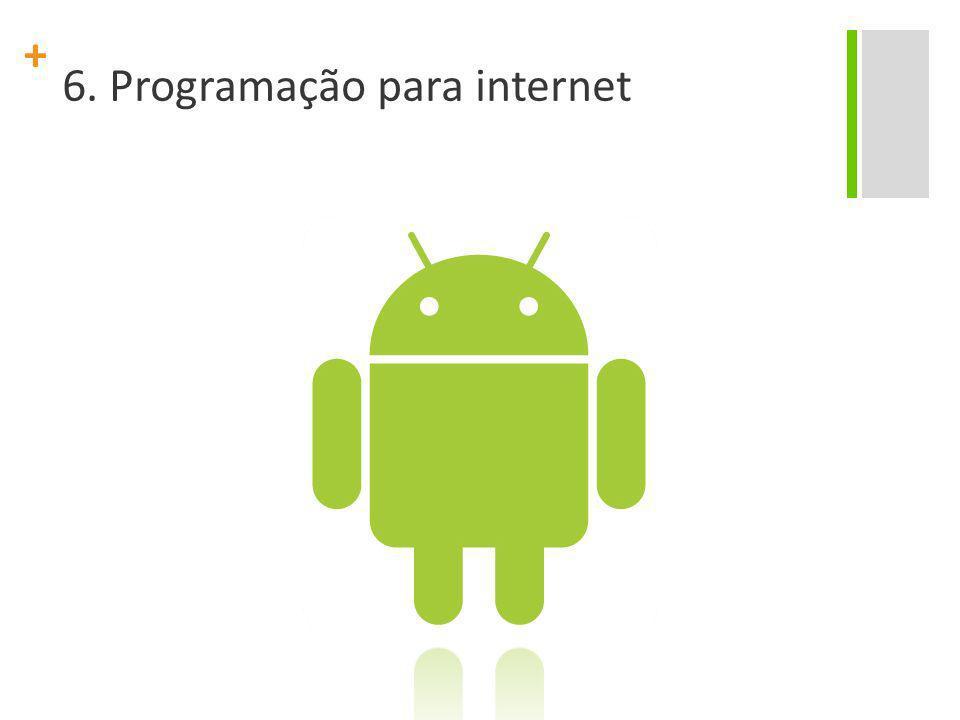 6. Programação para internet