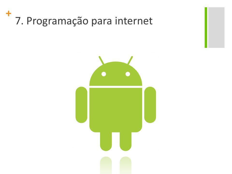 7. Programação para internet