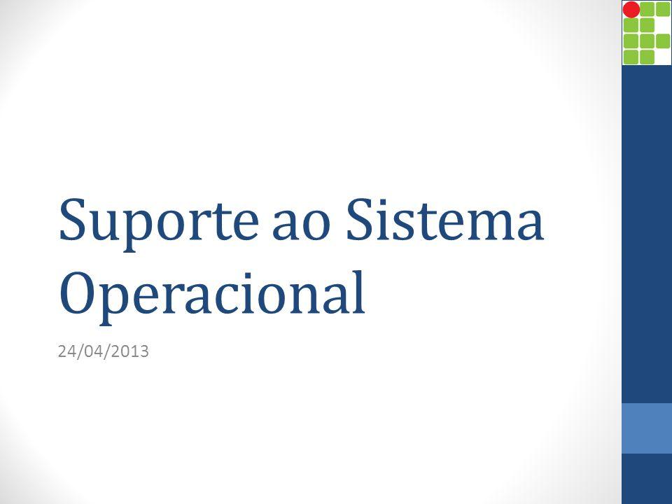 Suporte ao Sistema Operacional