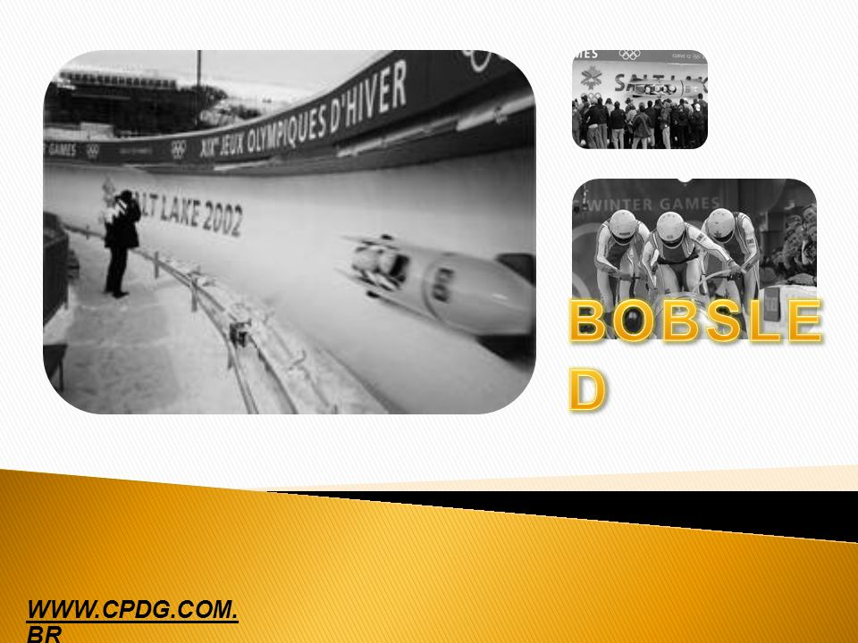 BOBSLED WWW.CPDG.COM. BR
