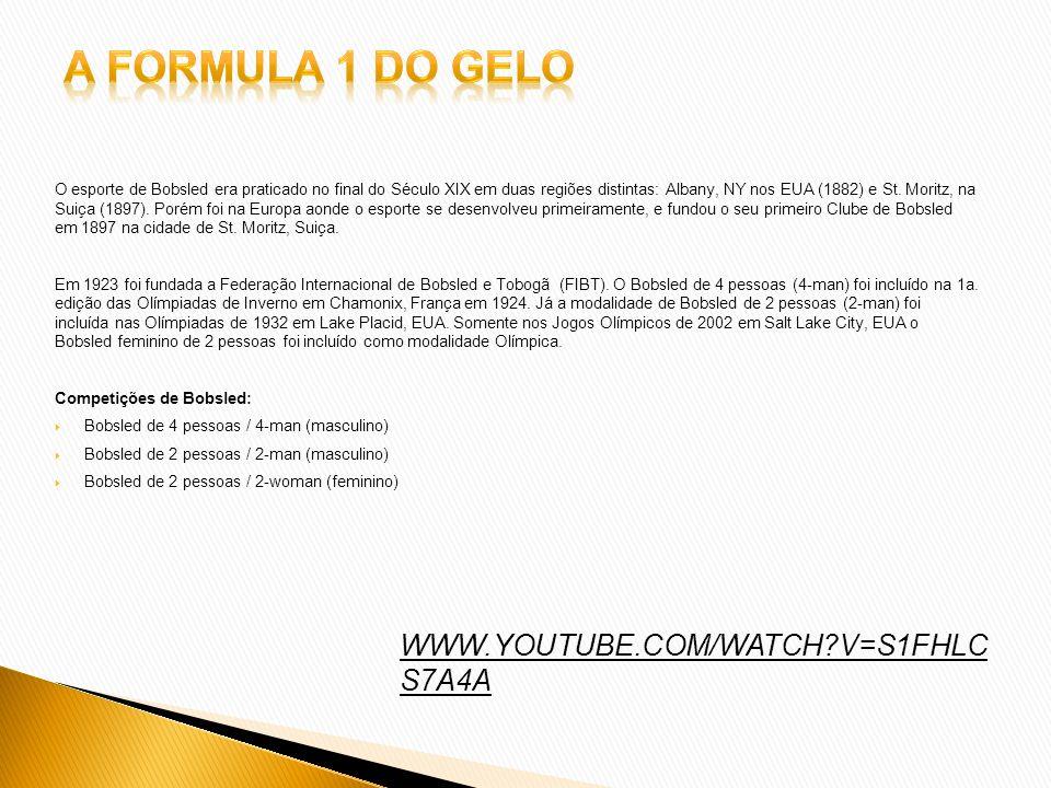 A Formula 1 do Gelo WWW.YOUTUBE.COM/WATCH V=S1FHLCS7A4A