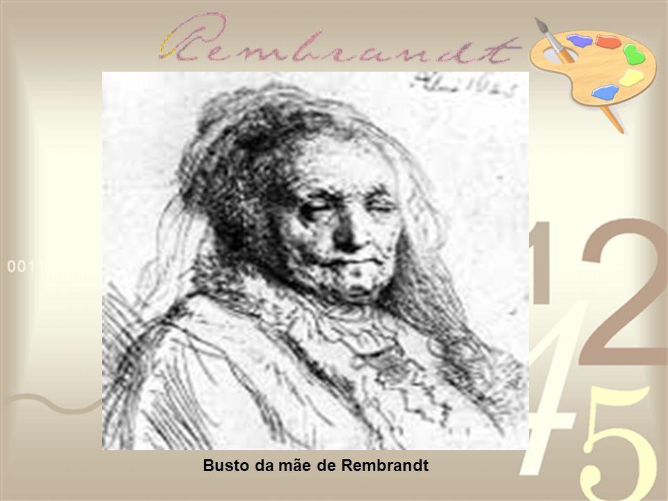 Busto da mãe de Rembrandt