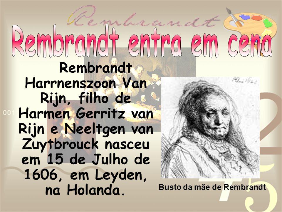 Rembrandt entra em cena
