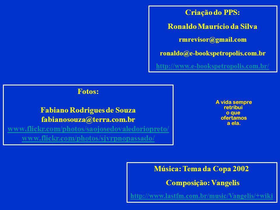 Ronaldo Maurício da Silva Fabiano Rodrigues de Souza
