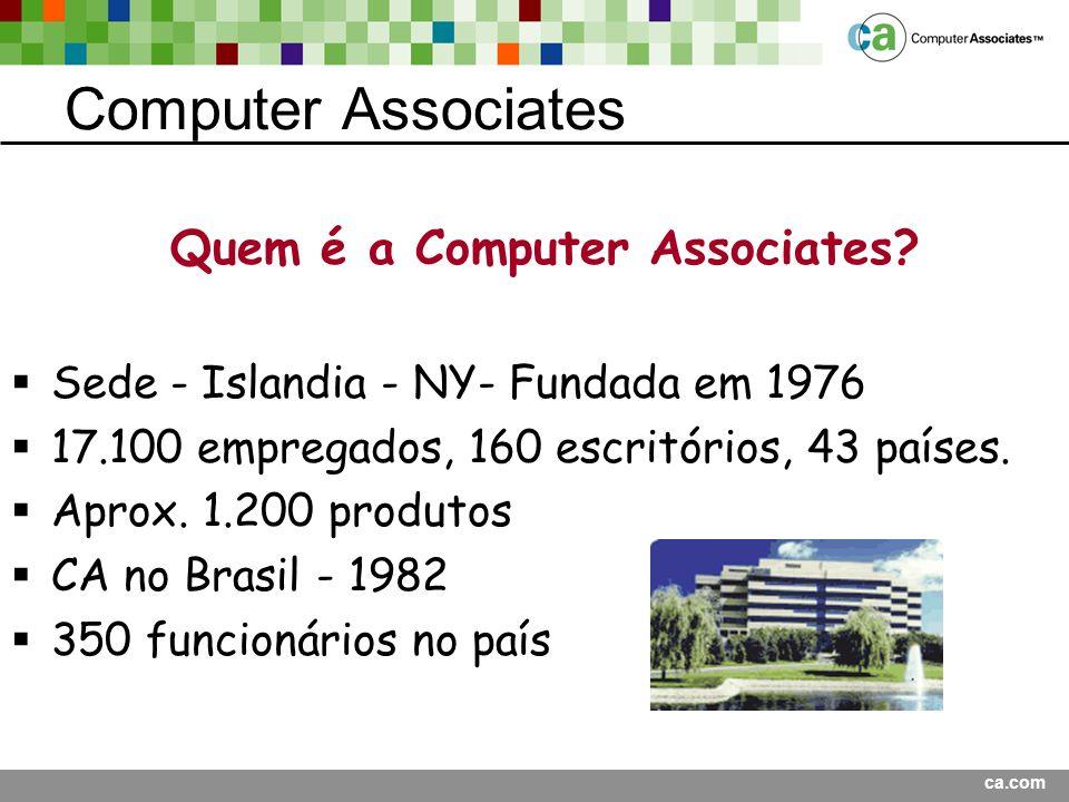 Quem é a Computer Associates