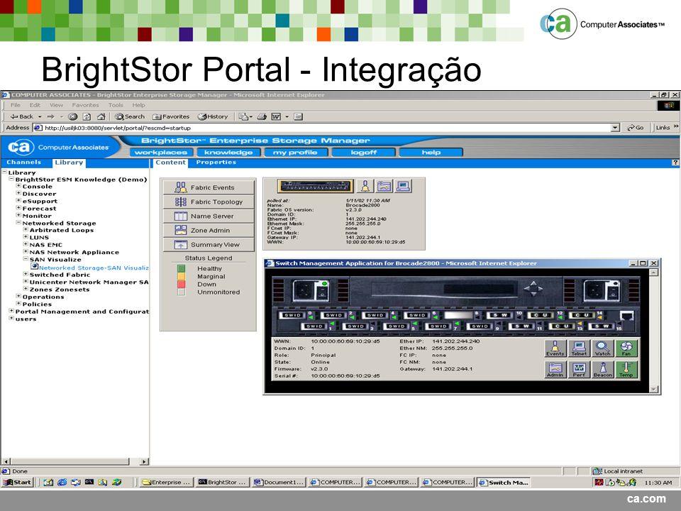 BrightStor Portal - Integração