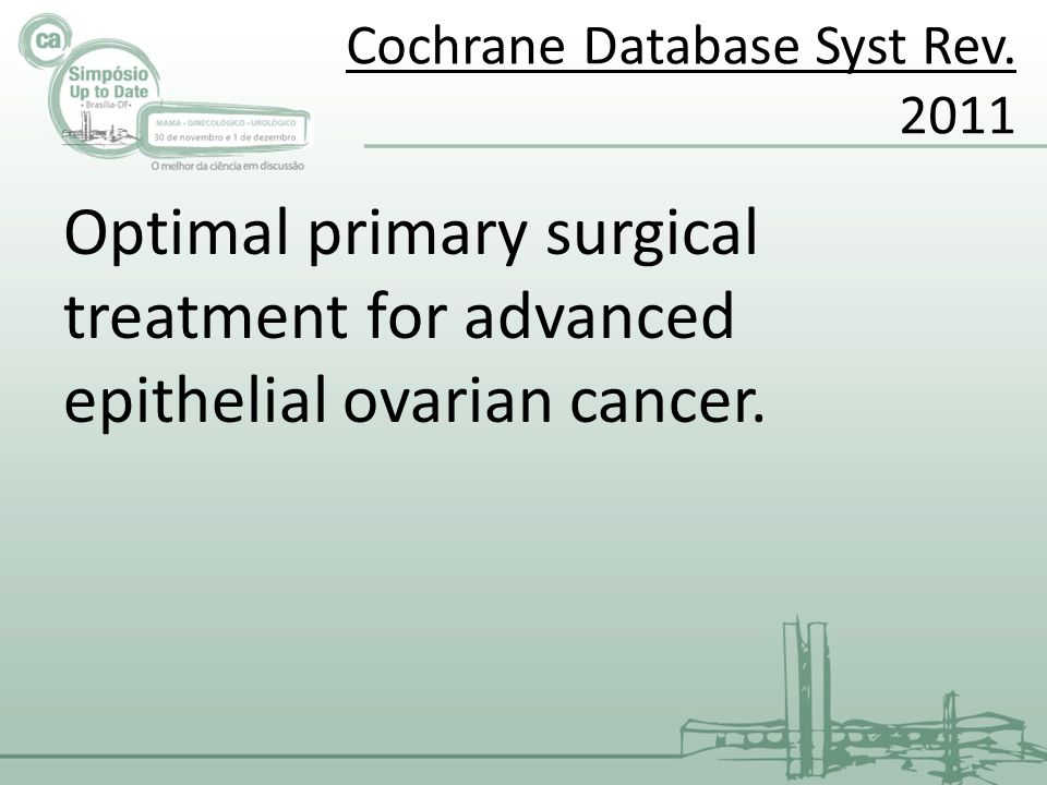 Cochrane Database Syst Rev. 2011