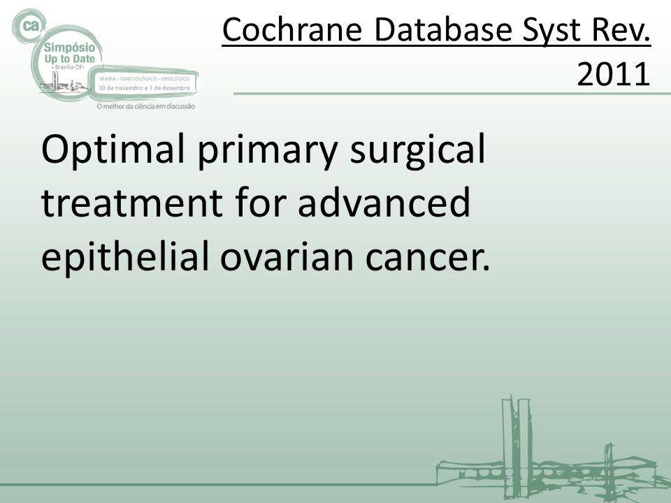 Cochrane Database Syst Rev. 2011
