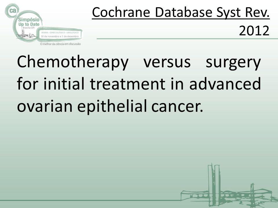 Cochrane Database Syst Rev. 2012
