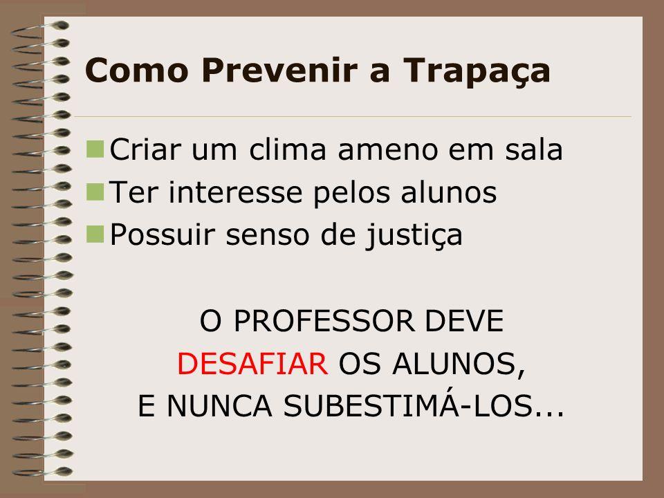 Como Prevenir a Trapaça