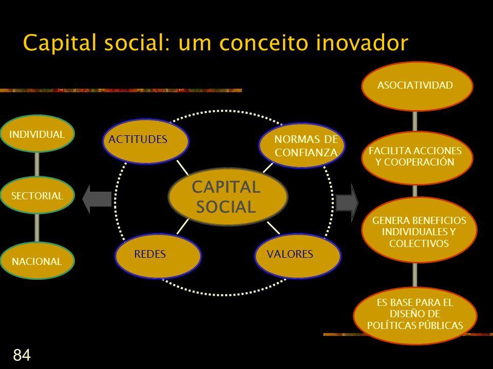 Capital social: um conceito inovador