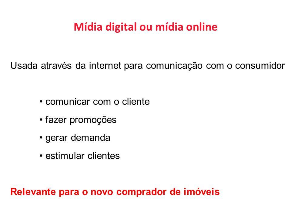 Mídia digital ou mídia online