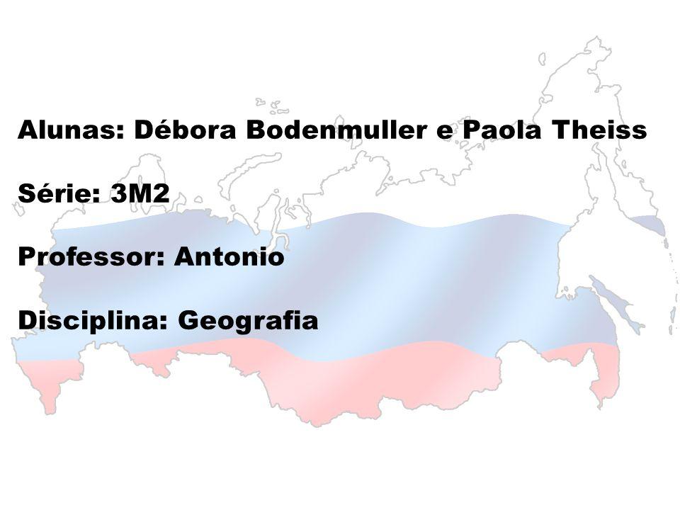 Alunas: Débora Bodenmuller e Paola Theiss