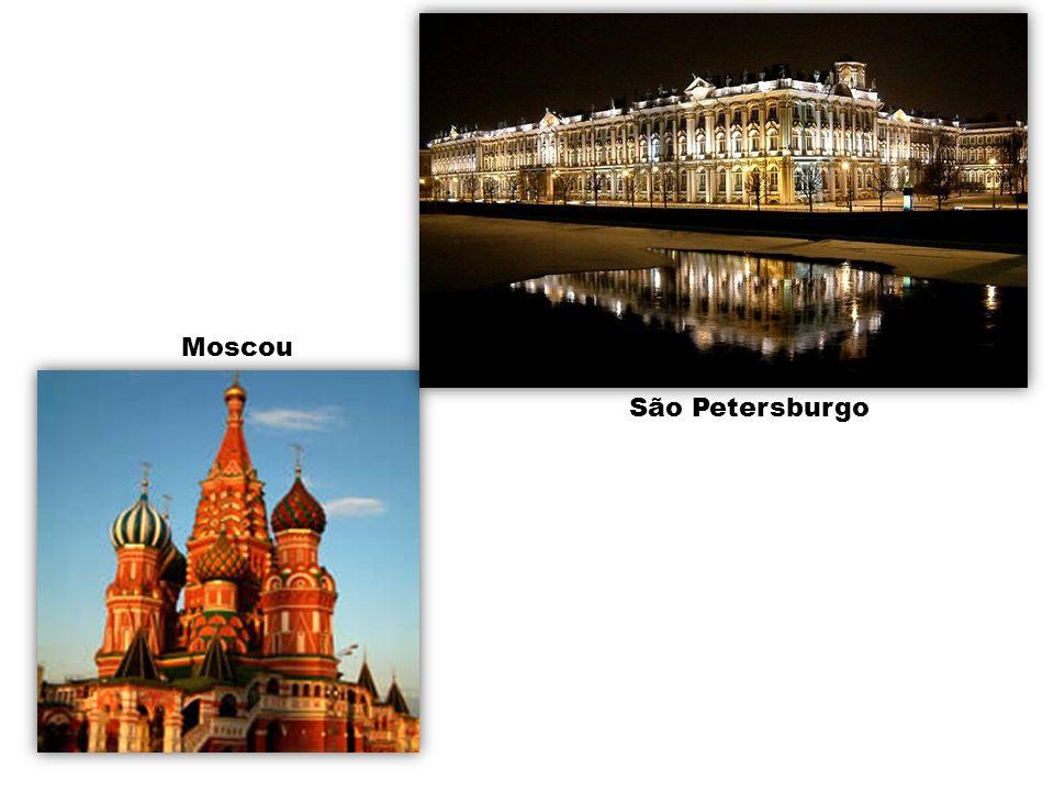 Moscou São Petersburgo