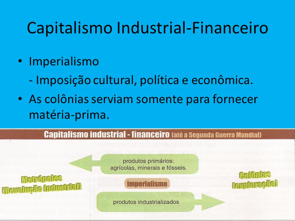 Capitalismo Industrial-Financeiro