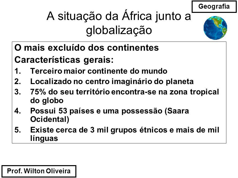A situação da África junto a globalização