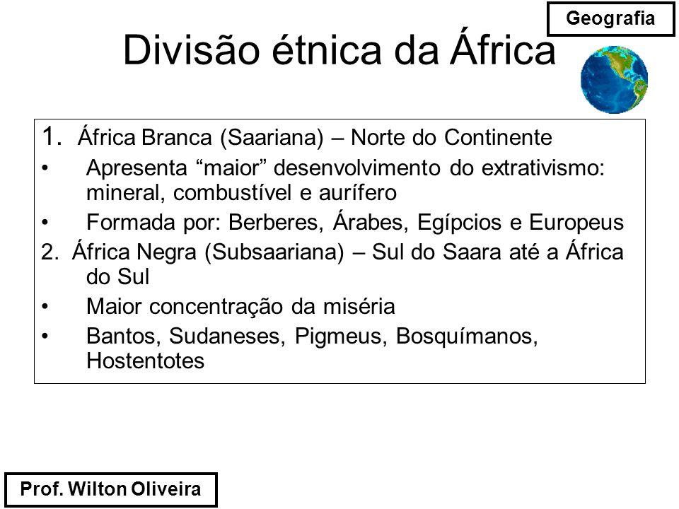 Divisão étnica da África