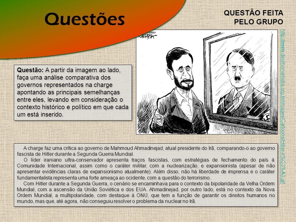 Questões QUESTÃO FEITA PELO GRUPO