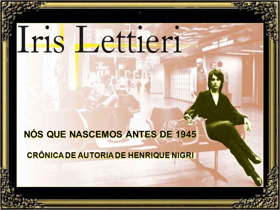 CRÔNICA DE AUTORIA DE HENRIQUE NIGRI