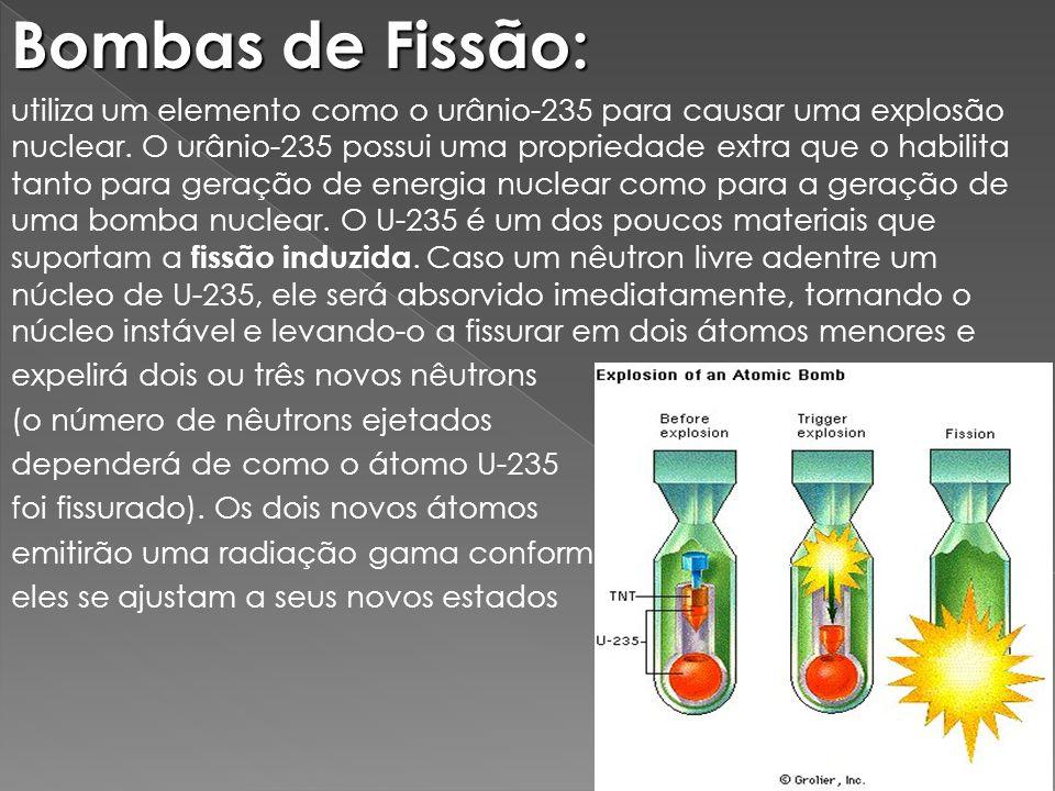 Bombas de Fissão: