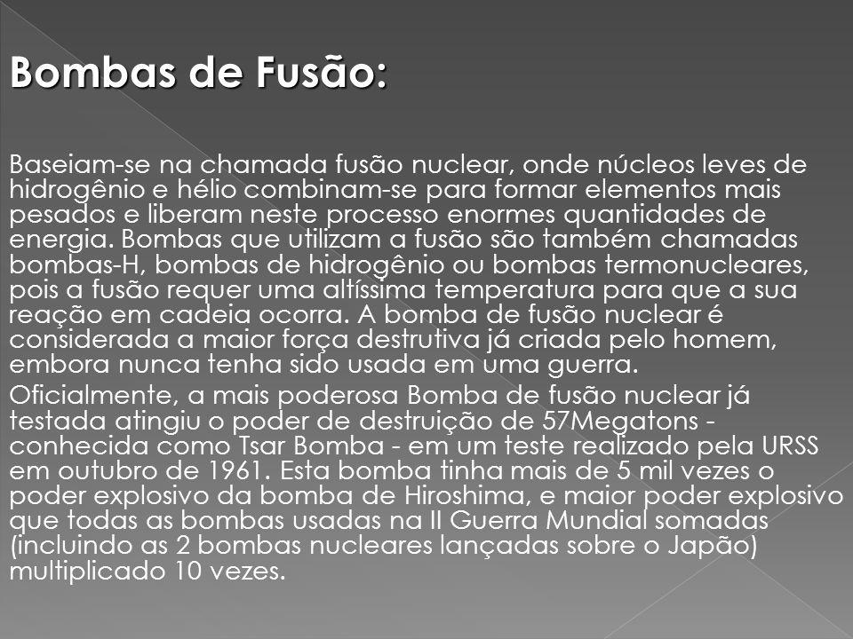Bombas de Fusão: