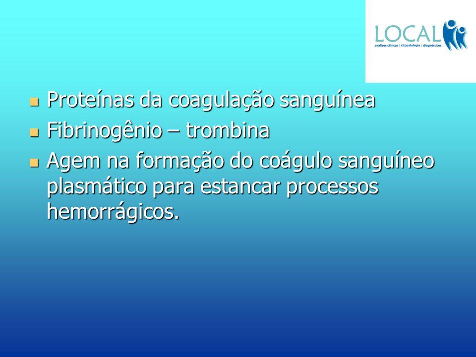 Proteínas da coagulação sanguínea