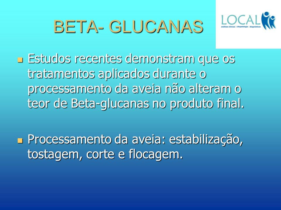 BETA- GLUCANAS